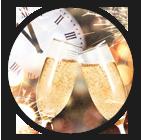 1 Glas Sekt inklusive (Zum Jahreswechsel)